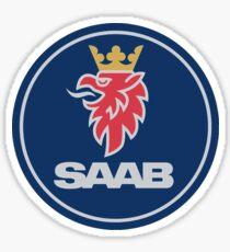 Saab Auto Logo Sticker