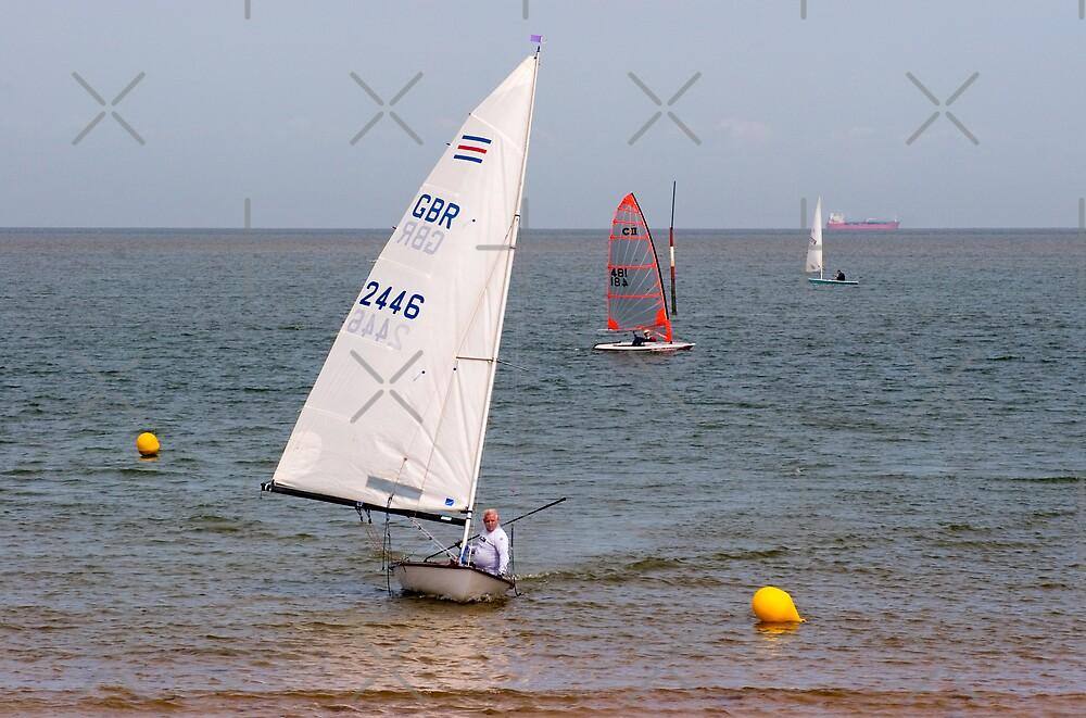 Sailing in Minnis Bay by Geoff Carpenter