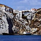 Cliffs of Ponza by Nancy Richard