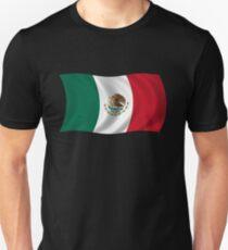 Waving Flag of Mexico Unisex T-Shirt