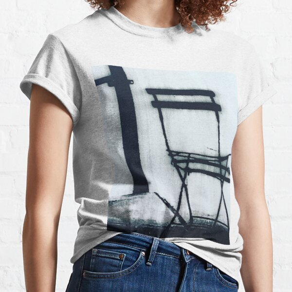 Brooklyn cafe chair Classic T-Shirt