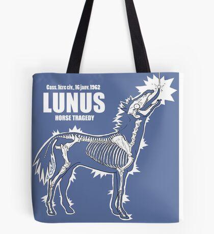 LUNUS , horse tragedy Tote bag