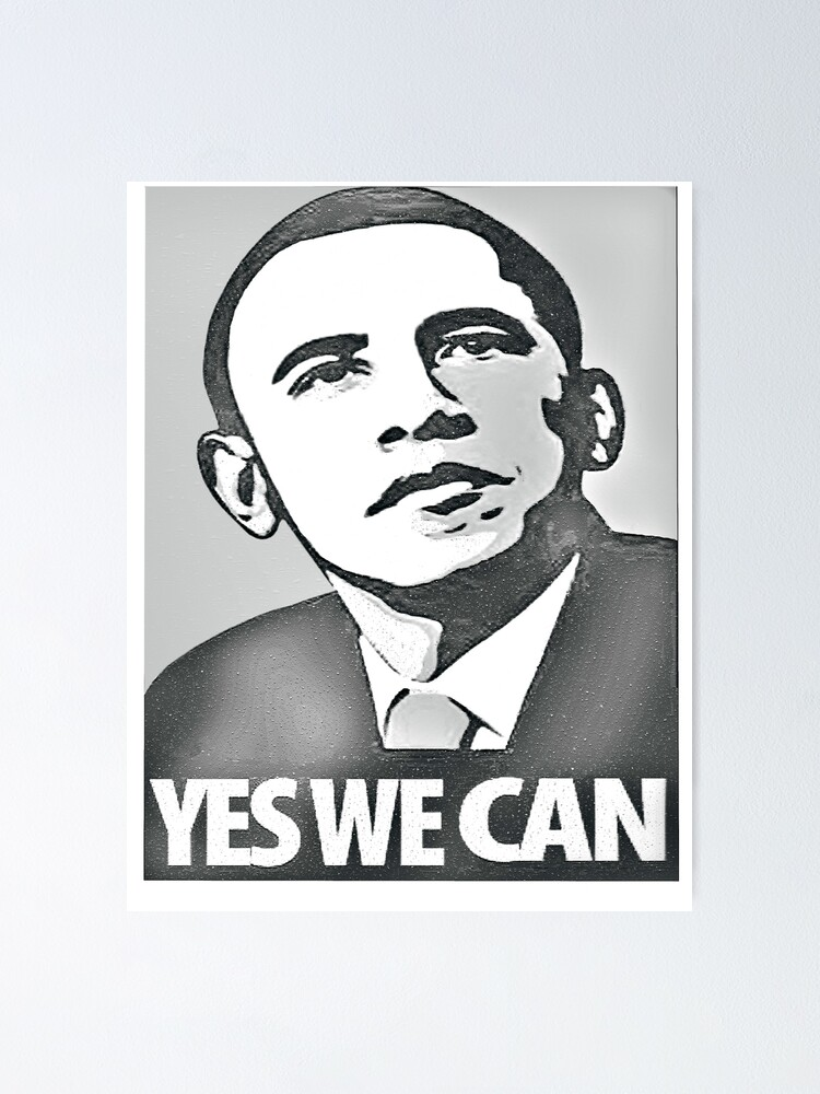 Obama Poster By Ali 87 Redbubble
