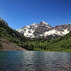 Maroon Bells by Judy Vincent