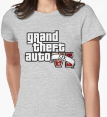 GTA 6 Women's Fitted T-Shirt