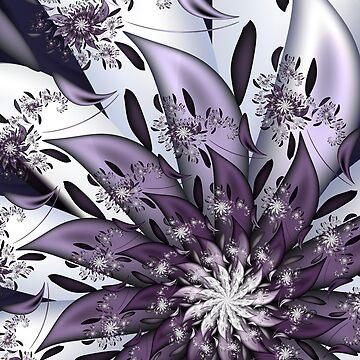 Pretty Purple Flower by pinkal