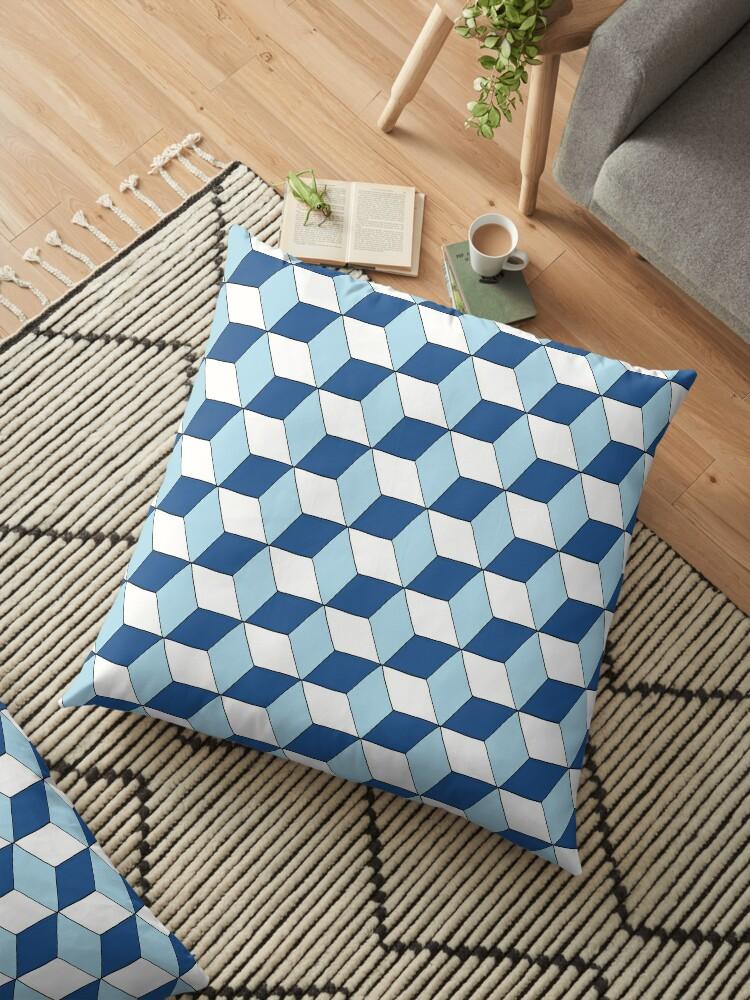 « Cubes bleus » par RosaLeeDesign