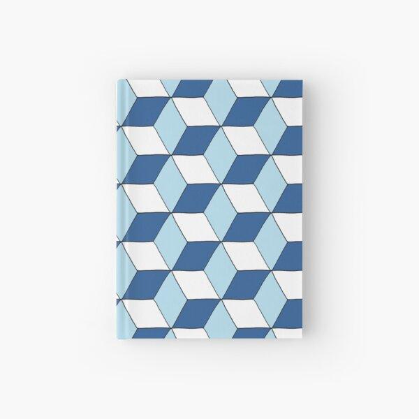 Cubes bleus Carnet cartonné