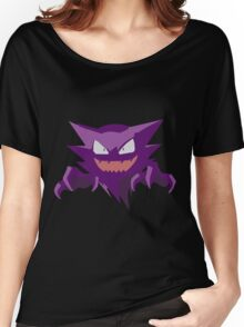 Haunter Pokemon Simple No Borders Women's Relaxed Fit T-Shirt