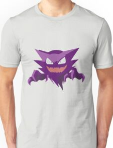 Haunter Pokemon Simple No Borders Unisex T-Shirt