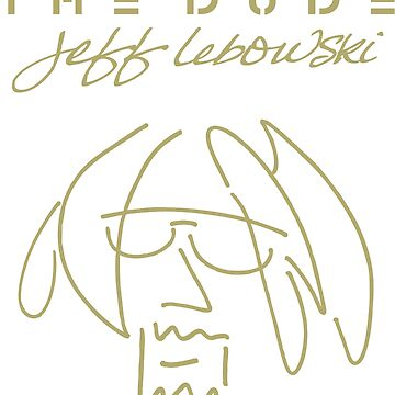 The Big Lebowski The DUDE 'Imagine' by cowbellnation