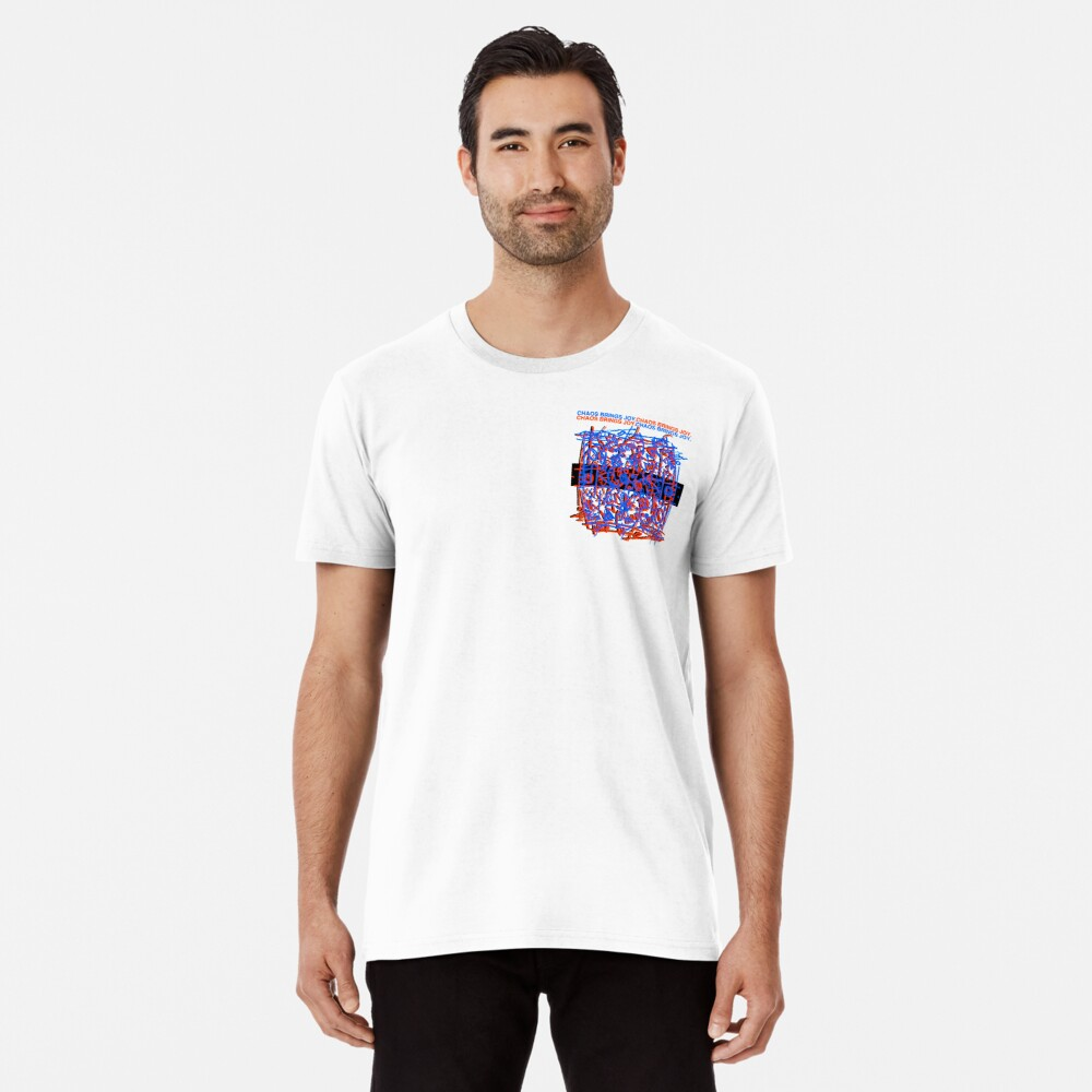 Chaos Brings Joy - Illustration Premium T-Shirt