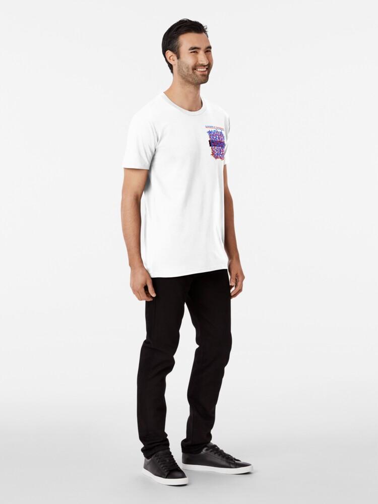 Alternate view of Chaos Brings Joy - Illustration Premium T-Shirt