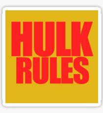Hogan Rules Sticker
