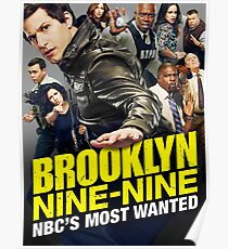 """Nine-Nine """"Most Wanted"""" Poster"""