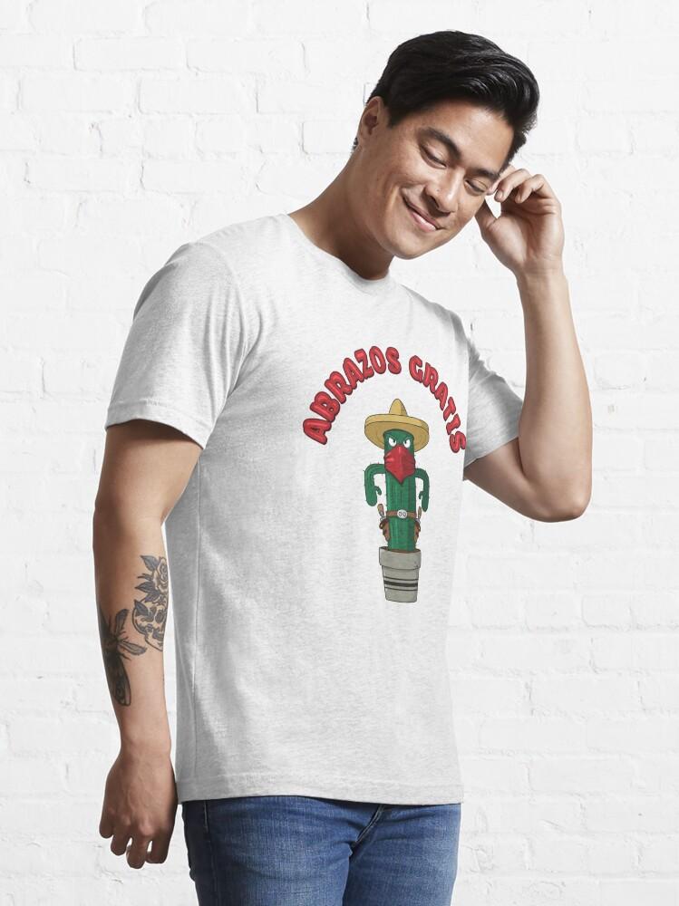 Alternate view of Abrazos Gratis - Funny Cactus Pun Gift Essential T-Shirt