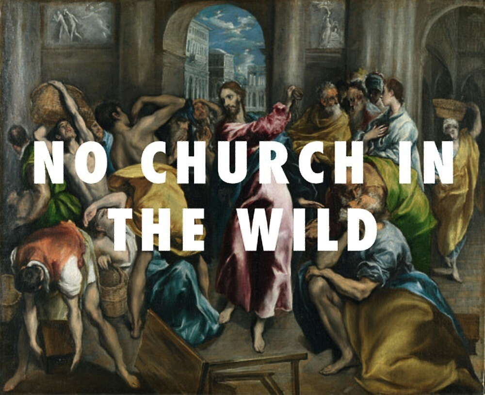 no church in the wild by husseinayman