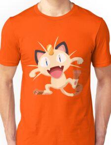 Meowth Pokemon Simple No Borders Unisex T-Shirt