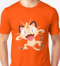 Meowth Pokemon Simple No Borders T-Shirt