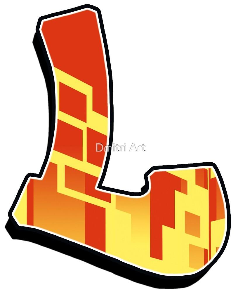 L - blocky by paintcave