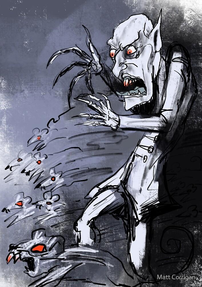 Nosferatu the lord of rats by Matt Corrigan