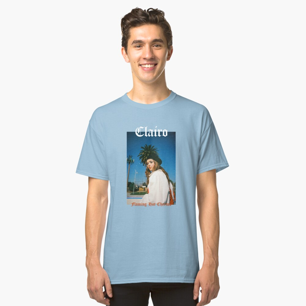 Clairo - Flaming HOT Cheetos Classic T-Shirt Front