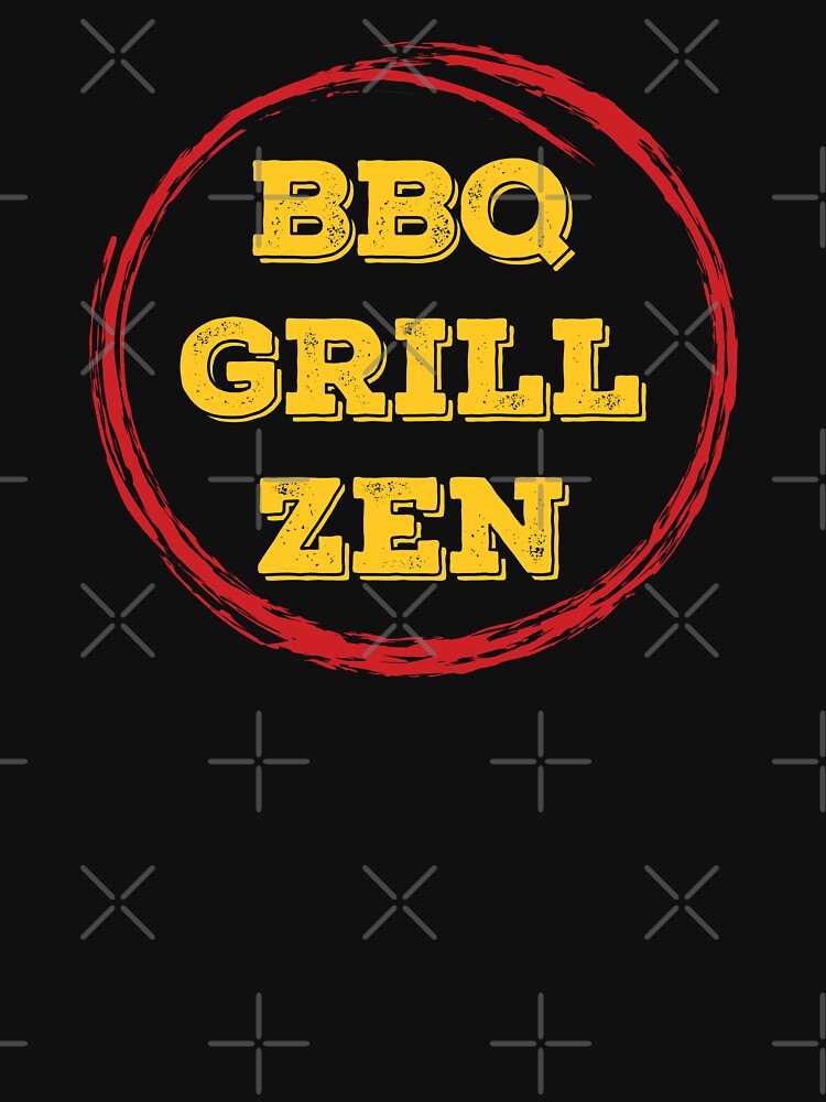 BBQ Grill Enso ZEN Grilling T-shirt Gift For Men Women by maindeals