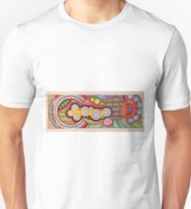 Zentangle Graphism Slim Fit T-Shirt