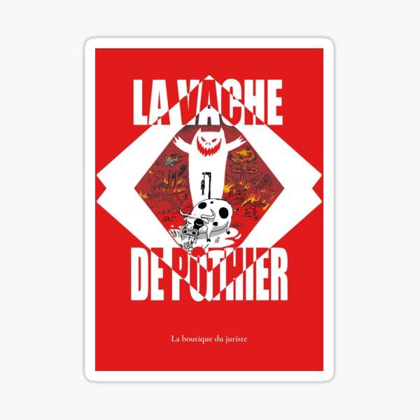 La vache de Pothier Sticker