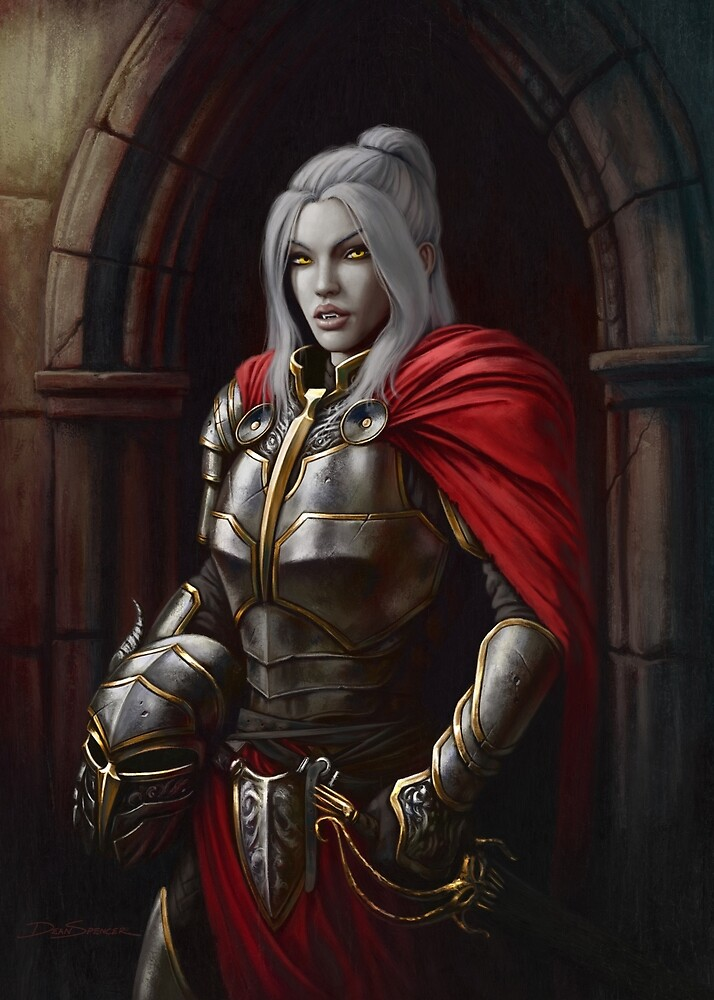 Vampire Royal Guard by DeanSpencerArt