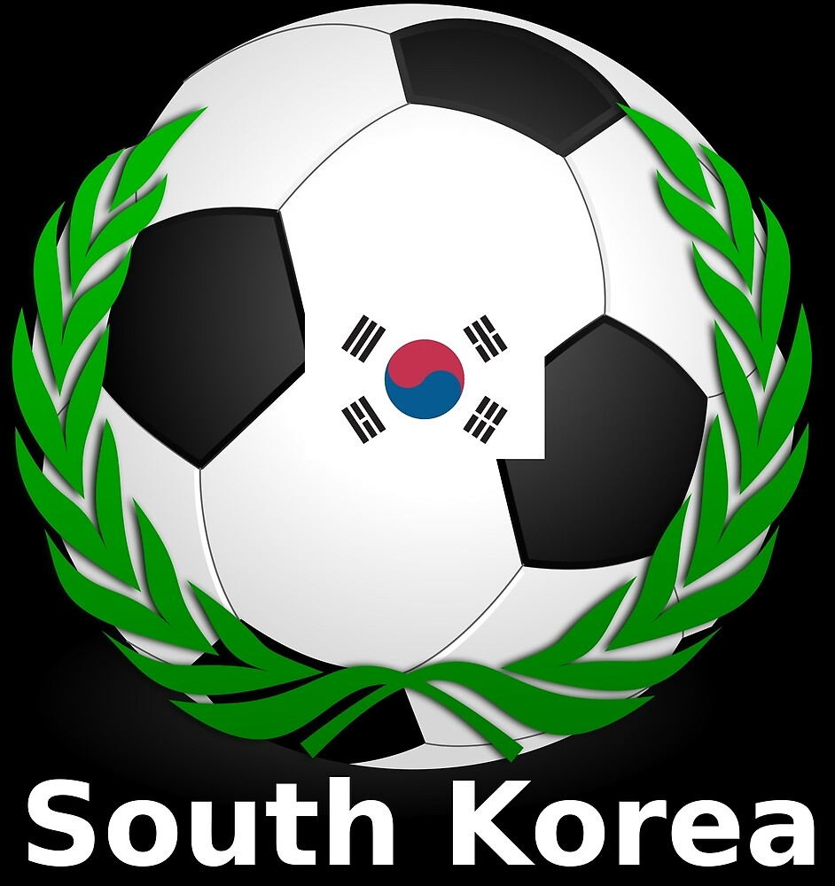 Soccer South Korea 2018 by FabianBendun