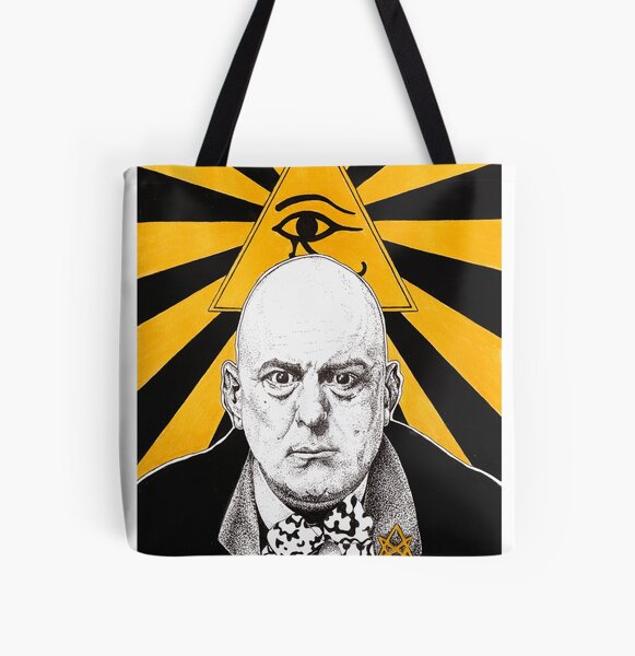 Aleister Crowley All Over Print Tote Bag