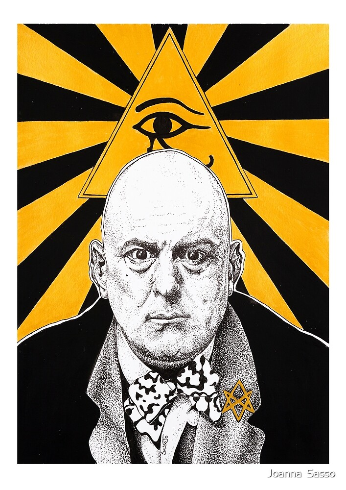 Aleister Crowley by SassoJo