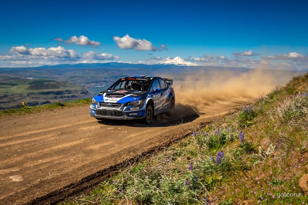 Subaru Rally Atko & Mount Hood by gotcone
