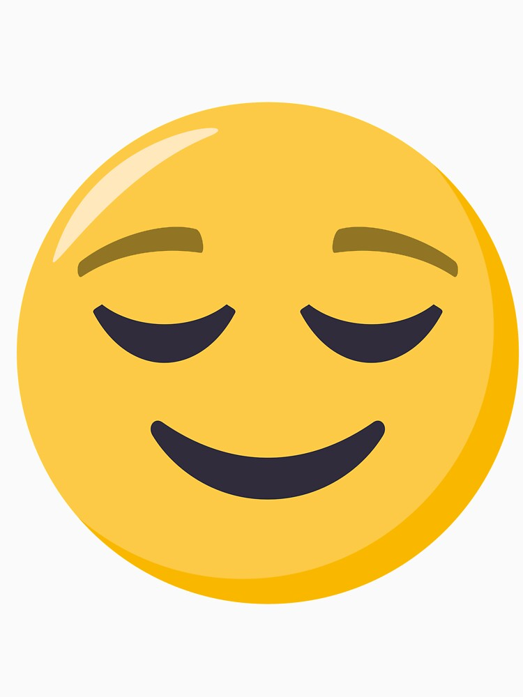 JoyPixels Relieved Face Emoji by joypixels