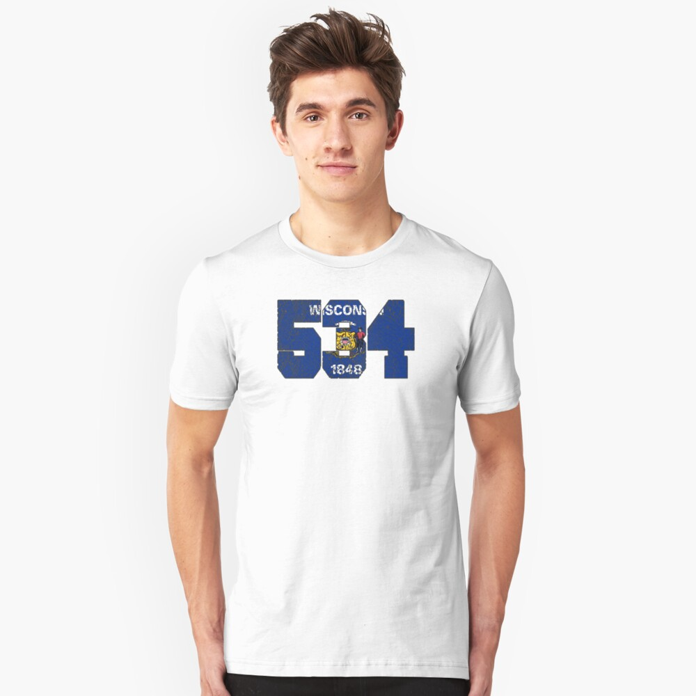 ALWAYS REPPIN' THE 534 Unisex T-Shirt Front