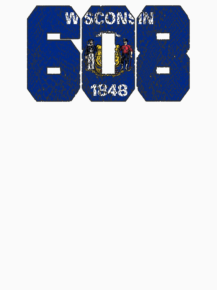 ALWAYS REPPIN' THE 608 by NotYourDesign