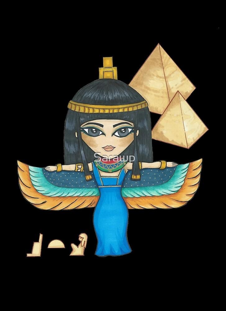 Egyptian Goddess by Sarawp