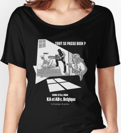 KA & AD T-shirts coupe relax