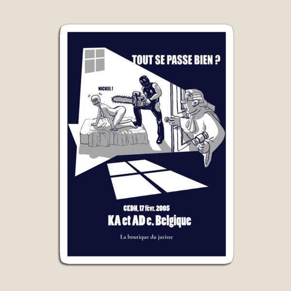 KA & AD Magnet