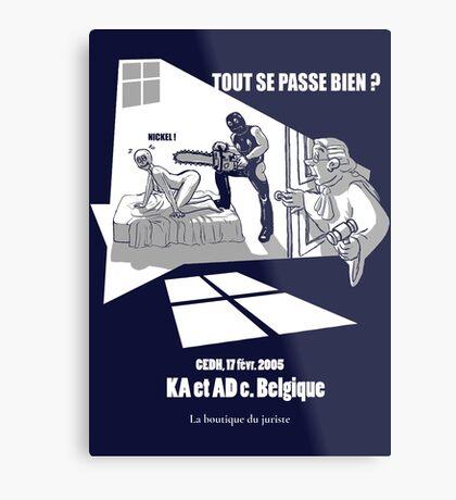 KA & AD Impression métallique