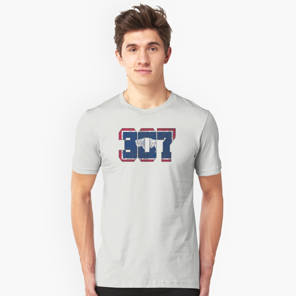 ALWAYS REPPIN' THE 307 Unisex T-Shirt Front