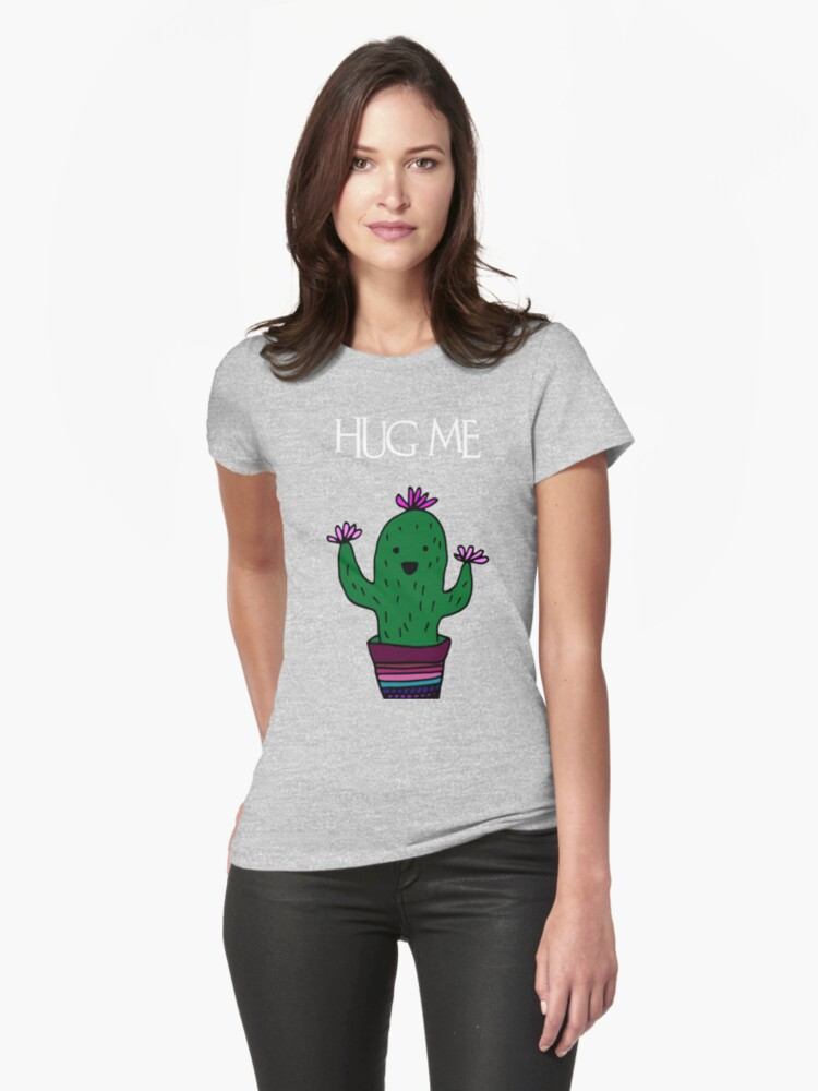 cactus Womens T-Shirt Front