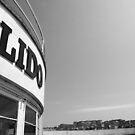 Saltdean Lido (Black and White) by JLaverty