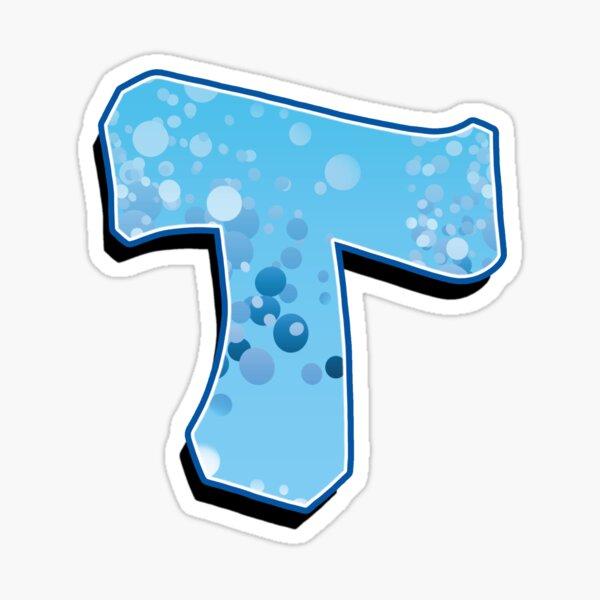 T - bubbles  Sticker