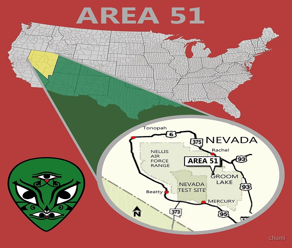 Area 51 aliens truths of Nevada by chumi