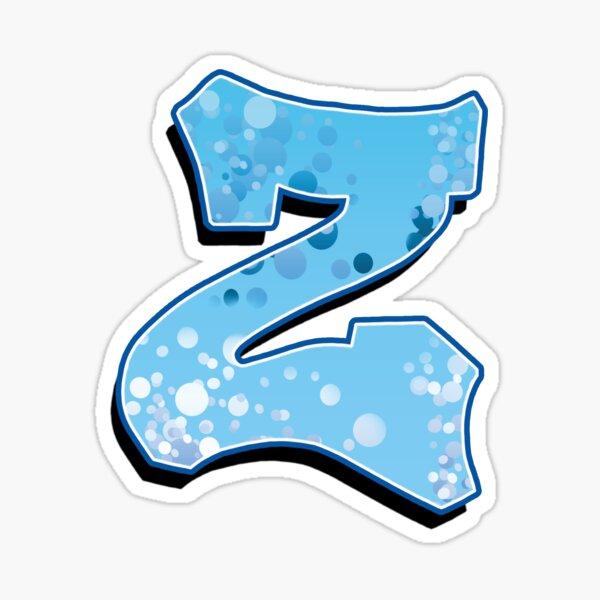 Z - bubbles Sticker