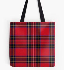 Royal Stewart Tartan Tote Bag