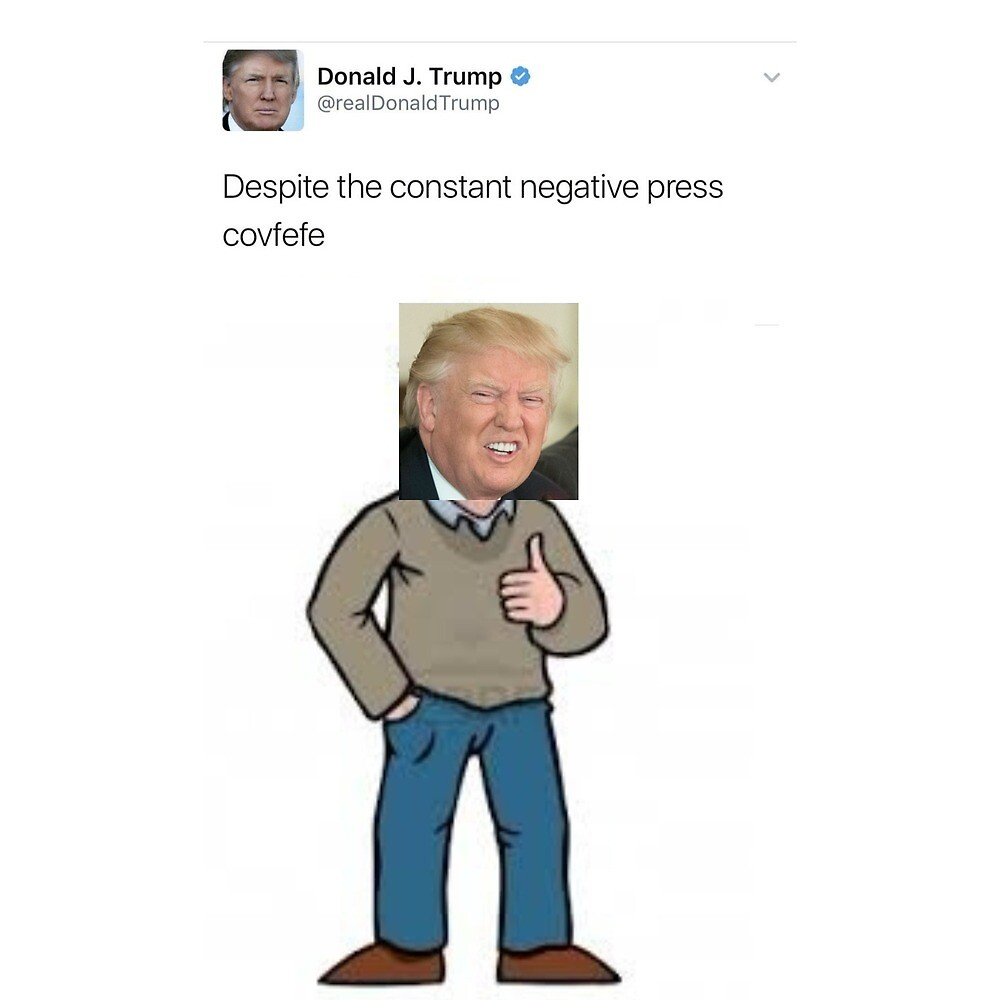 donald trump covfefe by istan