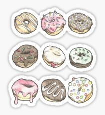 Donuts Sticker